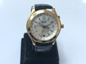 Piaget Citea GMT Ref 26021 Automatic 18k Yellow Gold Wristwatch