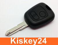 Auto Schlüssel Rohling Gehäuse für PEUGEOT 106 107 206 207 306 307 BOXER EXPERT
