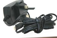 MICRO USB MAINS CHARGER WALL PLUG AMAZON KINDLE FIRE 3 METER LONG WIRE