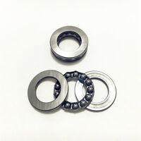 1-2pcs Roll Axial Ball Thrust Bearing 51206 51207 51208 51209 51210 3-Parts