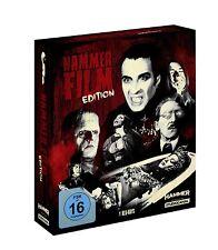 7er Box Hammer Film Edition Frankenstein Dracula Mummy + Rarities Blu-Ray New
