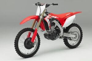 New Ray Honda CRF 450 2017 - 2019 1:12 Toy Model Factory MX Motocross Bike