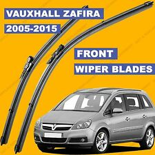 Pinch-Tab Front set Wiper Blade For Vauxhall Zafira 05-15 55 56 57 till 65 reg