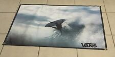 Vans surfing poster skateboard banner board wet suit sign logo equipment B24