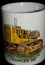BN Caterpillar Crawler D9 Stoneware Mug,  Construction and Plant Mug, 1/2 pint