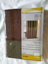 "Style Selections Fairfield 84"" Palm/Mocha Polyester Rod Pocket Thermal Curtain"