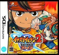 Used DS Inazuma Eleven 2 Fire NINTENDO JAPANESE IMPORT