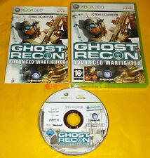 TOM CLANCY'S GHOST RECON ADVANCED WARFIGHTER 1 XBOX 360 Italiano ○○○ COMPLETO
