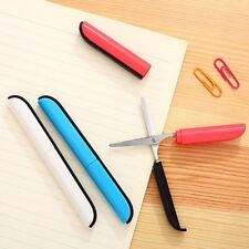 Novel Portable Pen Style Metal Mini Scissors & Plastic Handle Household Scissor