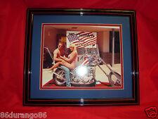 MS EASYRIDERS EASYRIDER 1998 LORI KUTTER CHOPPER HARLEY DAVIDSON  FRAMED PHOTO