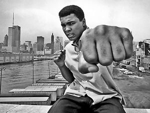 MUHAMMAD ALI BOXING POSTER 1 (SIZES-A5-A4-A3-A2) + FREE SURPRISE A3 POSTER