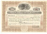 Lorrain Consolidated Mines  1924