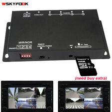 Parking Assistance Car DVR Recorder 12V Parking Video Camera Switch Combiner Box