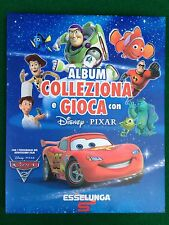 ALBUM Figurine Card DISNEY PIXAR , Ed Esselunga , COMPLETO + Poster