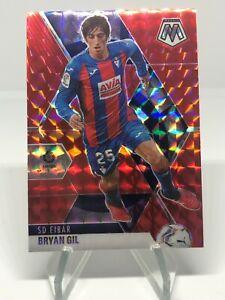 2020-21 Panini Mosaic La Liga Bryan Gil Red Prizm #41 SD EIBAR
