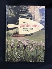 The Gardeners Reference Guide Hardcover Book Garden Flowers