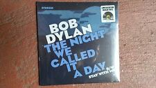 "Bob Dylan - The Night We Called It A Day - Blue 7"" SINGLE -RSD 2015 - NEW=Sealed"