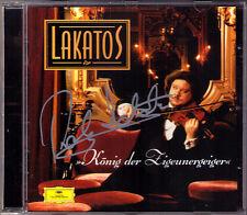 Roby LAKATOS Signiert KÖNIG DER ZIGEUNERGEIGER Ungarischer Tanz Csardas Monti CD