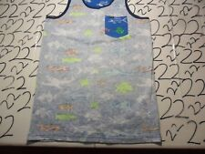 Youth Kids Large New Hurley Stitched On Wrong Side Of Material Tank Top T- Shirt