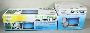 SmartPool LED Pool Light Battery/Solar Powered & Solar Panel Kit for EZ Light