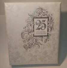 Hallmark 25th Our Silver Anniversary Refillable Keepsake Album SHIPS NEXT DAY!!!