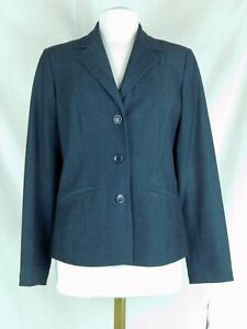 NWT Peck & Peck Size 6 Blue Dressy Suit Blazer Jacket Fully Lined $109.99 NEW