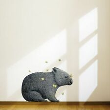 NEW Little Sticker Boy Wombat with Mariposa Wall Decal