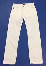 Armani jeans pantalone estivi w31 tg 44 45 usati gamba dritta leggeri slim T2656