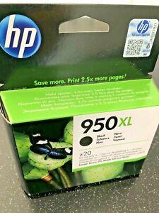 hp 950 xl ink cartridges black new