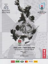 RUGBY WORLD CUP SEMI FINAL PROGRAMME 2019 ENGLAND v NEW ZEALAND