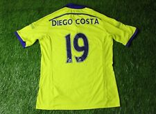 CHELSEA # 19 DIEGO COSTA 2014/2015 FOOTBALL SHIRT JERSEY AWAY ADIDAS ORIGINAL