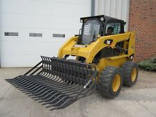 "Bradco 75"" Skid Steer Loader Rock Bucket Attachment with 3"" Tine Spacing New"