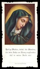 VIRGIN OF SORROWS Old HOLY CARD