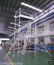 Aluminium Mobile Scaffold Tower W53 Scaffolding, Stand Ht 4m, Overall Ht 5m