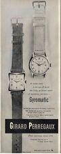 1951 Girard Perregaux PRINT AD Self winding Watch