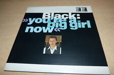"BLACK - YOURE A BIG GIRL NOW - AM480 !!!45 tours / 7"" LTD PACK + BOOKLET"