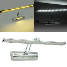 7W White LED Mirror Picture Wall Light 30SMD 5050 Bathroom Strip Bar Night Lamp