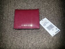 MICHAEL KORS-CHERRY-Medium Carryall Wallet-Saffiano Leather-New with Tag