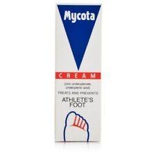 ** 2 X MYCOTA ATHLETES FOOT CREAM 25g TREATS & PREVENTS NEW **