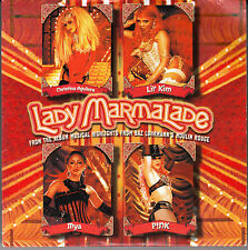 "CD SP 2 T CHRISTINA AGUILERA  LIL'KIM   MYA   PINK  ""LADY MARMELADE"""