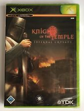 Xbox Knights of the Temple Infernal Crusade, German Version New & Factory Sealed