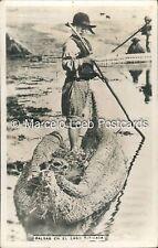 PERU LIMA BALSAS EN EL LAGO TITICACA REAL PHOTO