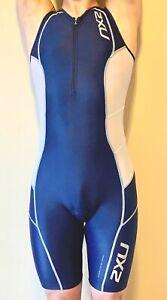 2XU Men Navy Blue Colour Super Elite Endurance Trisuit XS size