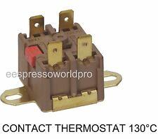 CONTACT THERMOSTAT 130°C MARZOCCO BEZZERA SANUSSI FIAMMA ELECTROLUX