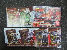 Bandai Masked Kamen Rider Ryuki Figure Gashapon Set of 6