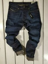 New Diesel Men's Jeans Tepphar 0857Z Slim Carrot Stretch Blue Stonewashed