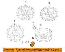 MITSUBISHI OEM 05-06 Lancer Wheel-Center Cap Hub Cover MN184312