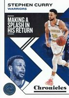 NBA Panini Trading Chronicles 2019/2020 No 21 Stephen Curry