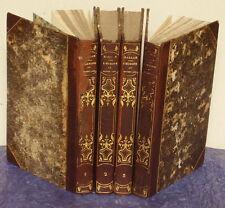 L' EUROPE AU MOYEN-AGE-HENRY HALLAM-REVUE PAR A. BORGHERS-COMPLET 4 TOMES-1837.