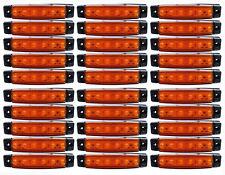 30 X 12V Led Naranja Ámbar de Posición Lateral Luces Lámpara de Intermitente